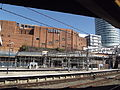 Birmingham New Street Station - new footbridge - Odeon and Rotunda (7949642394).jpg