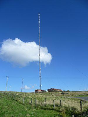 Black Hill transmitting station - Image: Black Hill transmitter, North Lanarkshire