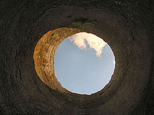 Blaenavon Ironworks - Furnace chimney