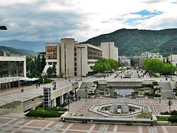 Skyline of Blagoevgrad