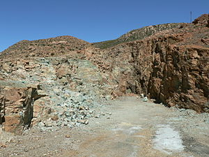 Springbok, Northern Cape - Blue Mine, Springbok, South Africa