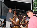 Bluegrass jam RockyGrass Lyons CO July 2005.jpg