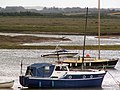Boats moored in Wells harbour - geograph.org.uk - 955855.jpg