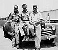Bob Waters, Tommy McDowell and Preston Dillon, Aramco.jpg