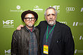 Bobcat Goldthwait and Barry Crimmins May 2015.jpg
