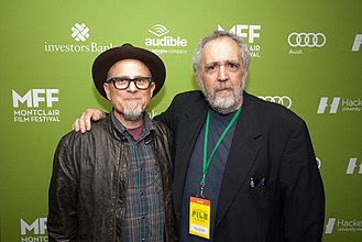 Barry Crimmins - Crimmins with Bobcat Goldthwait in May 2015