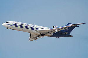 2012 Boeing 727 crash experiment - A Boeing 727 similar to the experiment aircraft
