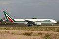 Boeing 777-243ER I-DISO Alitalia (6658239519).jpg