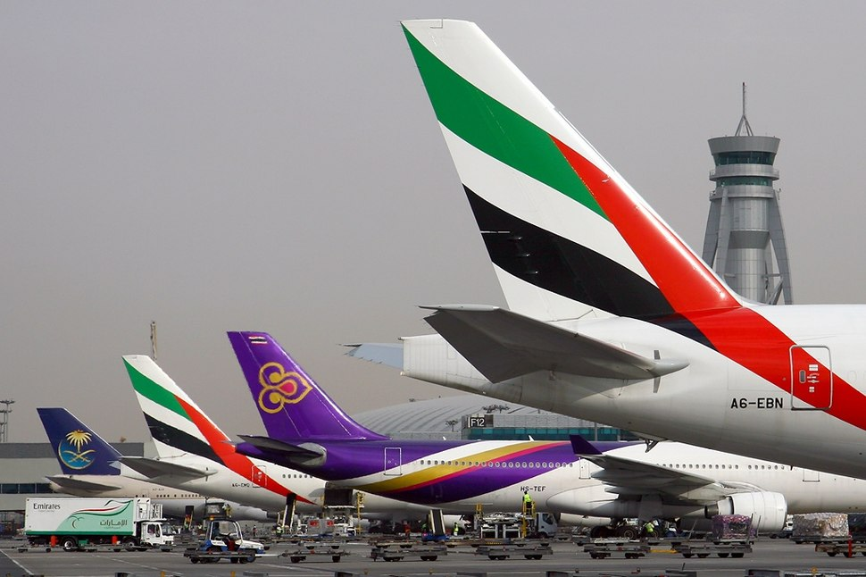 Boeing 777-36N-ER, Emirates AN1211876