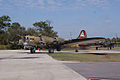 Boeing B-17G-85-DL Flying Fortress Nine-O-Nine Landing Taxi 25 CFatKAM 09Feb2011 (14960865326).jpg