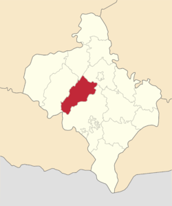 Location of Bohorodčanu rajons