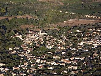 Boisseron - An aerial view of Boisseron