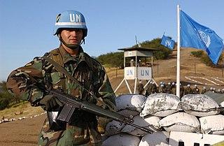 militärische Einheiten, die von den Mitgliedsländern den Vereinten Nationen für Friedenssicherungseinsätze bereitgestellt werden