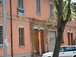 Francesco Guccini - Via Paolo Fabbri 43, the address in Bologna after which Guccini's album is named.