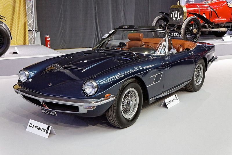 File:Bonhams - The Paris Sale 2012 - Maserati Mistral 4000 ...