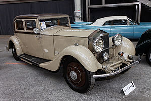 Rolls-Royce Phantom II - Rolls-Royce 40-50hp Phantom II 'Continental' Sports Saloon