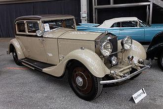 Rolls-Royce Phantom II - Rolls-Royce 40-50hp Phantom II 'Continental' Sports Saloon