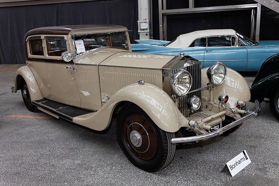 Bonhams - The Paris Sale 2012 - Rolls-Royce 40-50hp Phantom II %27Continental%27 Sports Saloon - 1931 - 001