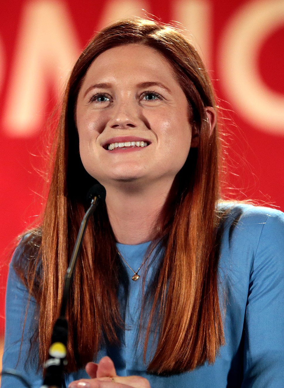 Bonnie Wright by Gage Skidmore