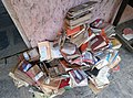 Books in public library damaged in 2019 Sangli flood.jpg