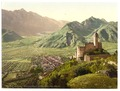 Borgo (i.e., Borgo Valsugana) with Telvano Castle and Cima Dodici, Tyrol, Austro-Hungary-LCCN2002710997.tif