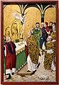 Bottega del maestro della vita della vergine, messa di sant'uberto, 1480-85 ca.jpg