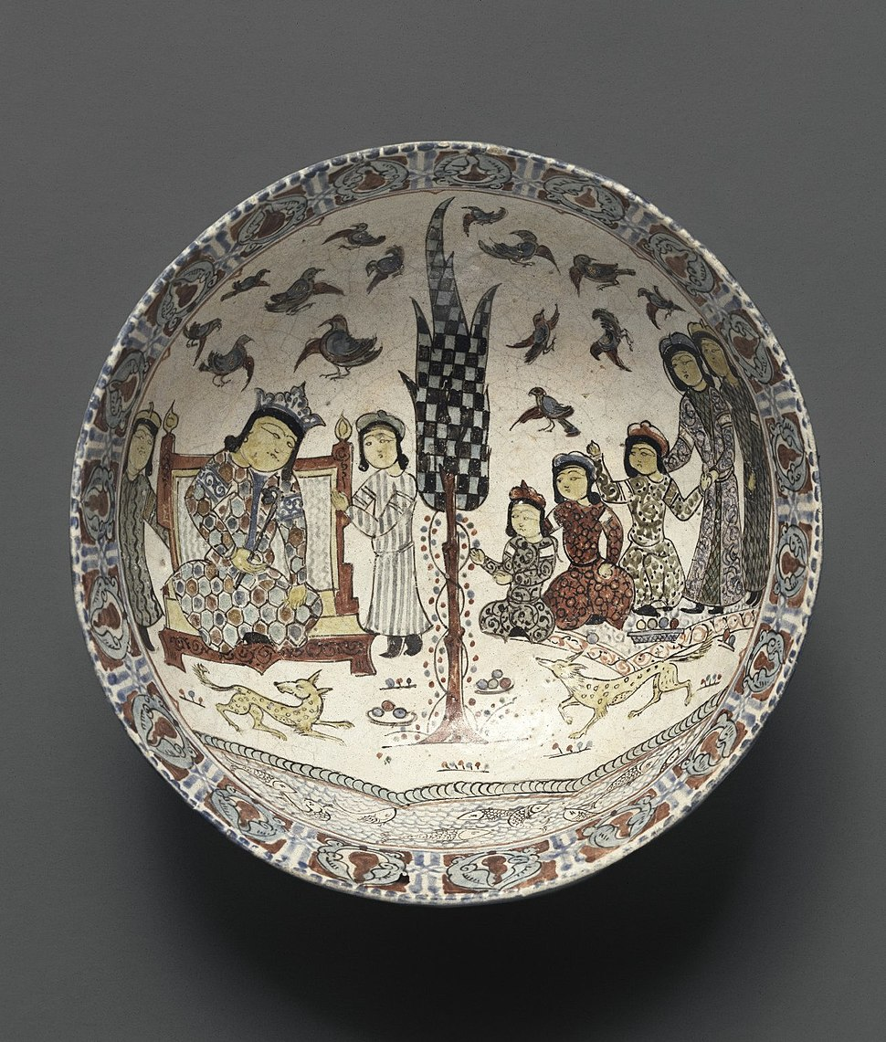 Bowl with an Enthronement Scene. Seljuq