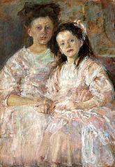 Portret dziewczynek Heleny i Władysławy Chmielarczyk