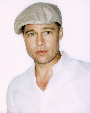"Make It Right Foundation - Photographic portrait of Brad Pitt from Blake Nelson Boyd's ""Louisiana Cereal""."