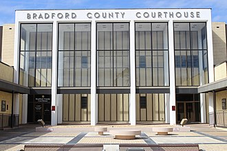 Bradford County, Florida - Image: Bradford County Courthouse 2018