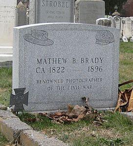 Brady Mathew grave
