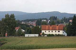 Brand (Oberpfalz), view from south to the village.JPG