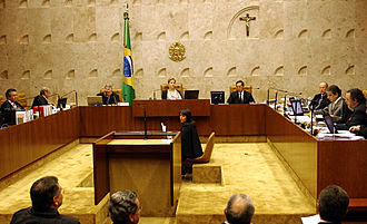 Supreme Federal Court - Image: Brazilian Supreme Federal Tribunal