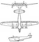 Bregeut 730 3-view L'Aerophile January 1944.jpg