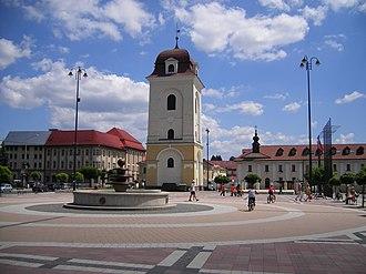 Brezno - Town center of Brezno