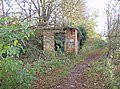 Brick hut on the Thames path - geograph.org.uk - 610161.jpg