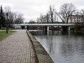 Bridge across the river Svislač, Pieršamajskaja street (Minsk) 1.jpg