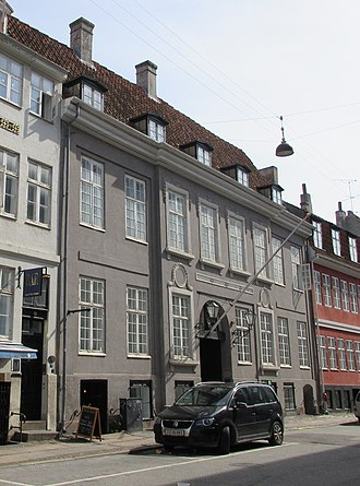 William Halling - The Brigadér Holling House in Copenhagen, now housing the Maltese embassy