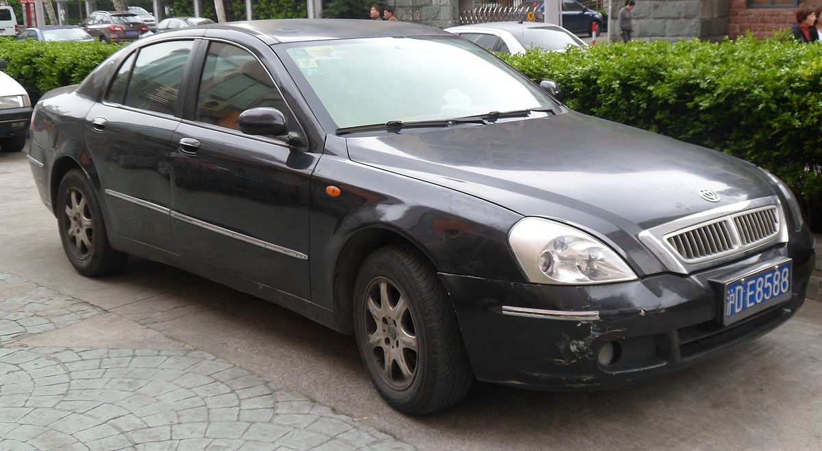 What Is Sedan Car >> Brilliance BS6 - Wikipedia