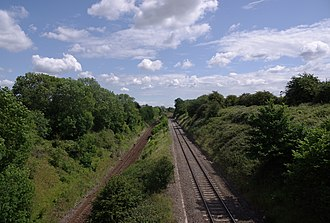 Patchway railway station - Image: Bristol MMB «I1 South Wales Main Line