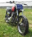 British Army White Helmets Royal Signals Display Team Triumph TR7V Tiger motorcycle.jpg