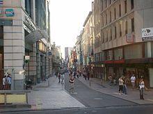 Quartier marais jacqmain bruxelles wikivoyage le for Boulevard du jardin botanique bruxelles