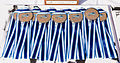 Bronze medals, senior women, 2014 ICF canoe polo world championships.jpg