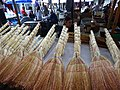 Brooms for Sale in Market - Telavi - Georgia (18201831809).jpg