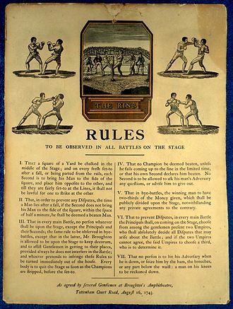 Broughton, Flintshire - Image: Broughton Rules