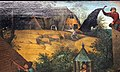 Bruegel il vecchio, proverbi fiamminghi, 1559, 16.JPG