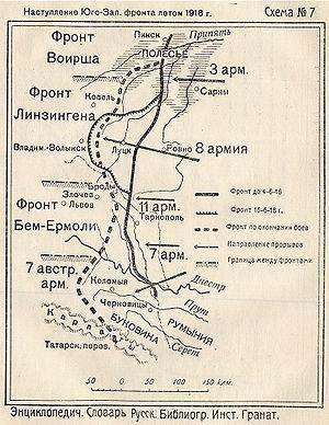 Реферат брусиловский прорыв 1916 8927