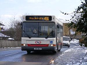 Bu-Val Buses - Bu-Val Buses W17 BLU at Smithy Bridge.