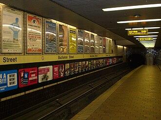 Buchanan Street subway station - Image: Buchanan Street Subway Station
