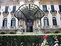 Bucuresti, Romania, Palatul Cantacuzino pe Calea Victoriei nr. 141, sect. 1 (detaliu 4).JPG